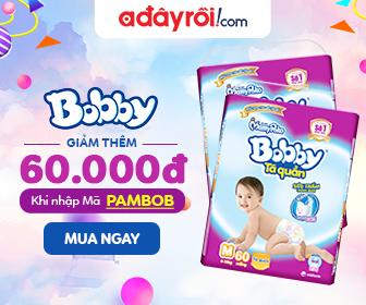 Bobby - Nhập Mã PAMBOB Giảm Thêm 60.000Đ