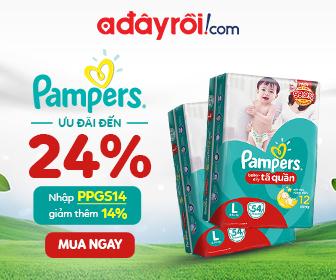 Pampers - Ưu đãi đến 24%