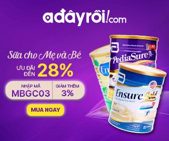 Sữa cho mẹ và bé – Ưu đãi đến 28% - Nhập mã MBGC03 ưu đãi thêm 3%