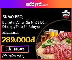 Sumo BBQ tại HN giá từ 289K