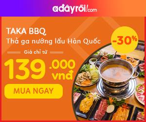 Taka BBQ - Thả ga nướng lẩu Hàn Quốc
