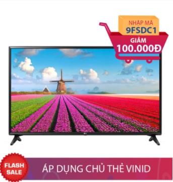 Smart TV Full HD 43 inch LG 43LJ550T + Nồi E-Cook 4,8L/2242 Giảm ngay 100.000đ