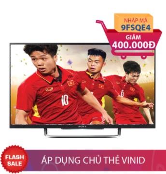 Smart Tivi LED 3D Full HD Sony 55 inch KDL 55W800C Giảm ngay 400.000đ