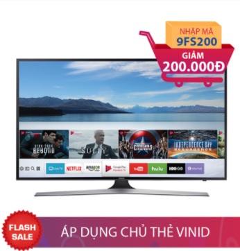 Smart Tivi Samsung 50 inch 50MU6100 Giảm ngay 200.000đ