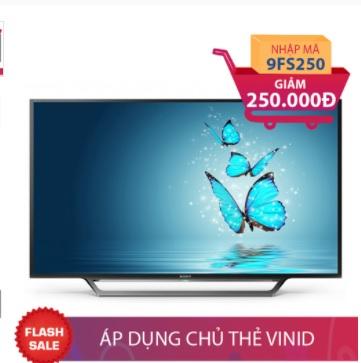 Internet Tivi Full HD Sony 55 inch 55W650D Giảm ngay 250.000đ