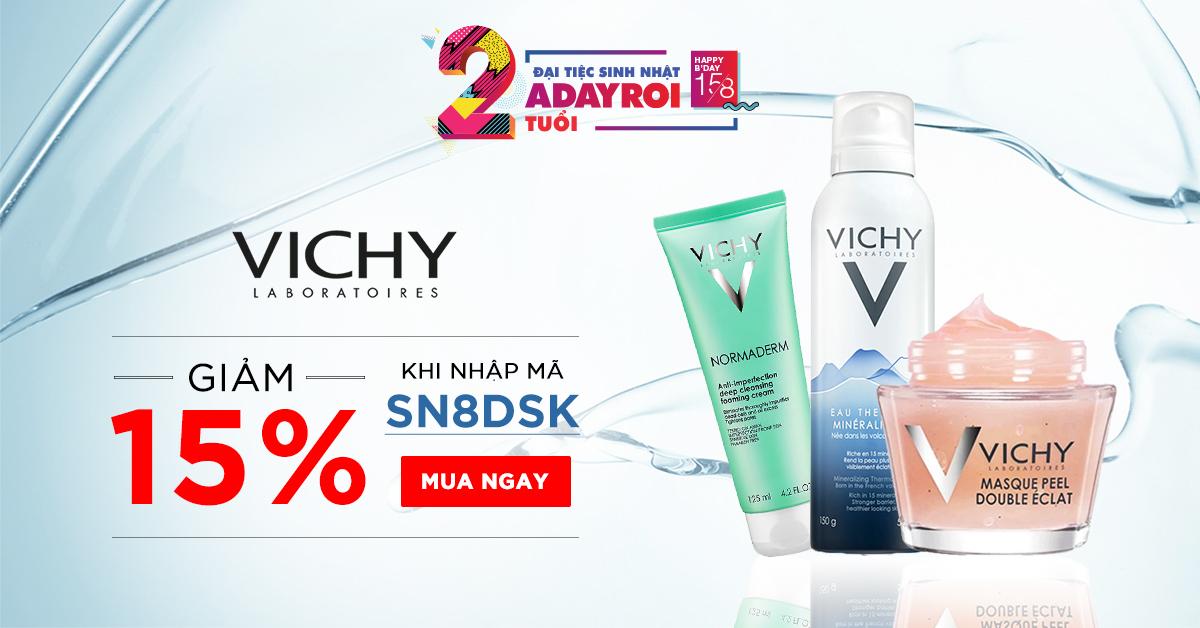 Vichy - Giảm sâu tới 15%