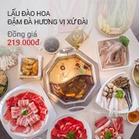 Lẩu Đào Hoa: đồng giá 219,000đ