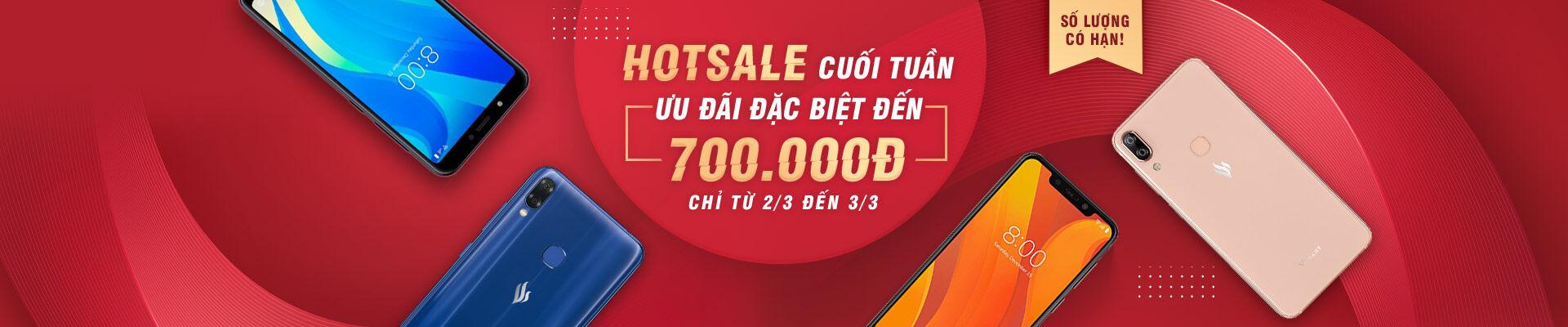 Điện thoại Vsmart - Hot sale cuối tuần