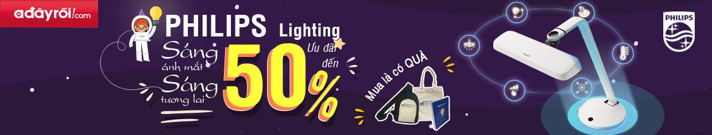 Đèn Philips chính hãng - Ưu đãi lên đến 50%