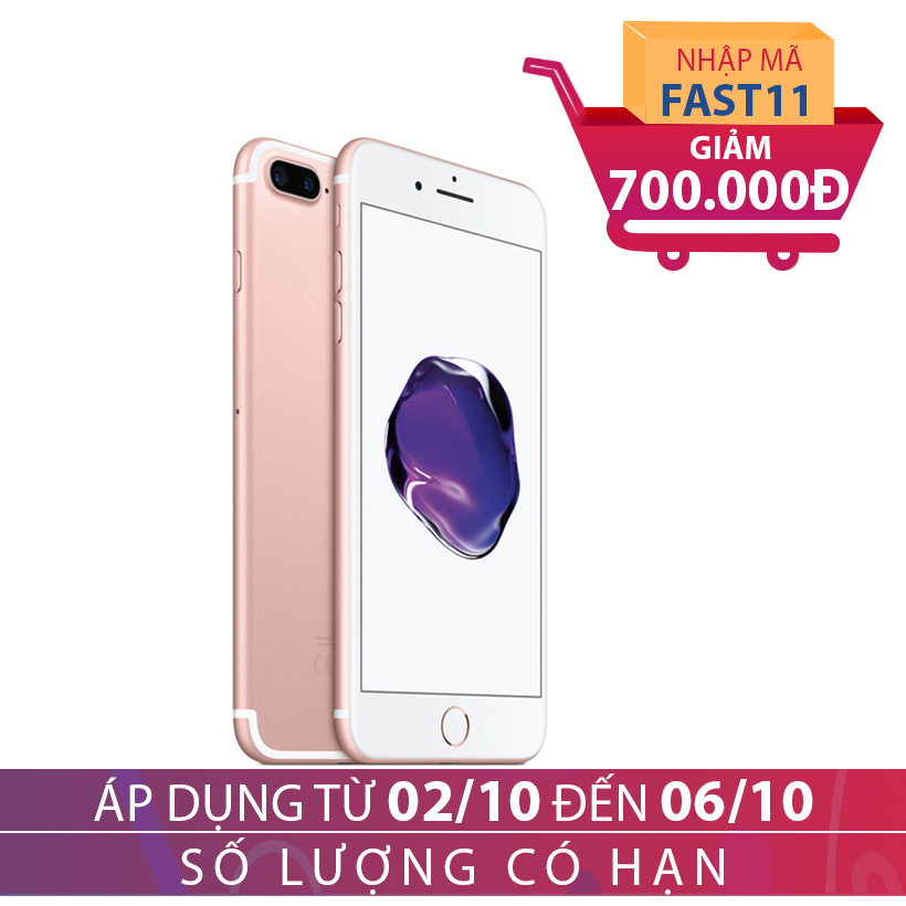 Apple iPhone 7 Plus 32GB Hồng (Certified Pre-Owned) giảm thêm 700K