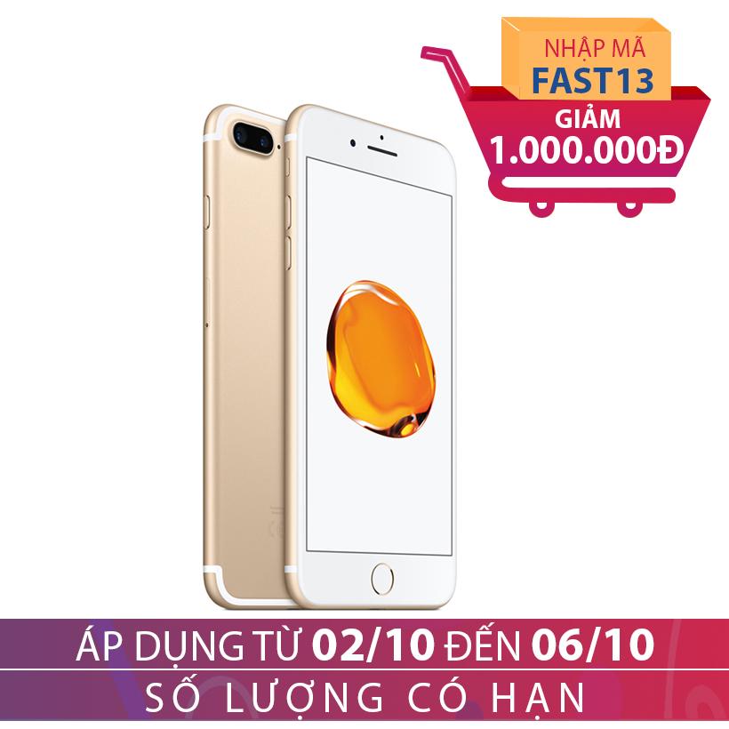Apple iPhone 7 Plus 128GB Vàng kim (Hàng chính hãng VN/A) giảm ngay 1 triệu