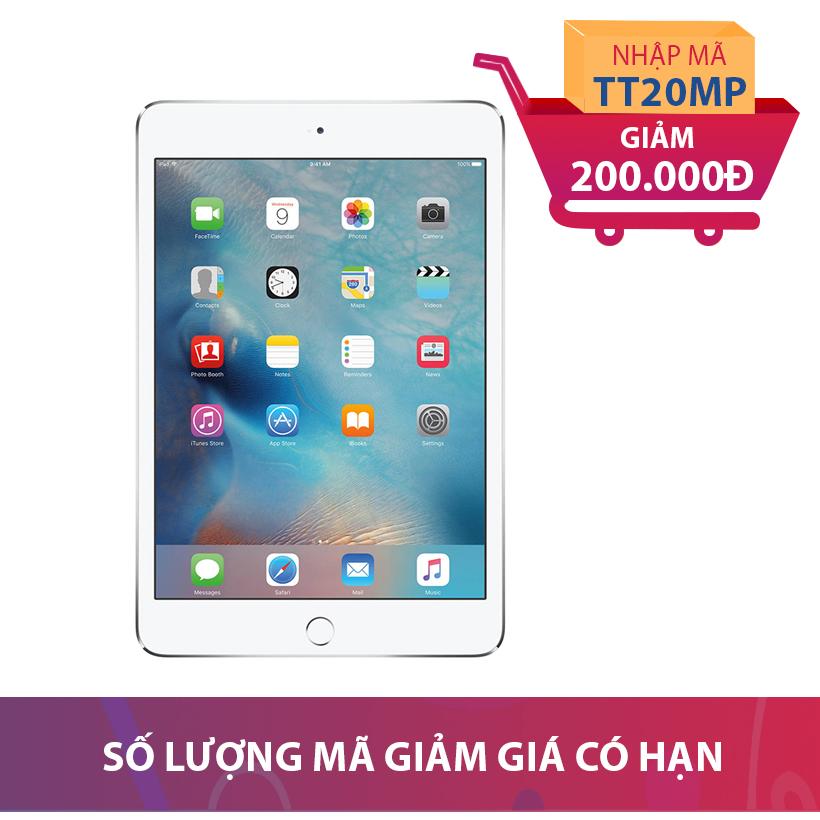 Máy tính bảng Apple iPad Mini 4 Wifi 4G 32GB (Hàng nhập khẩu) Khuyến mại hấp dẫn