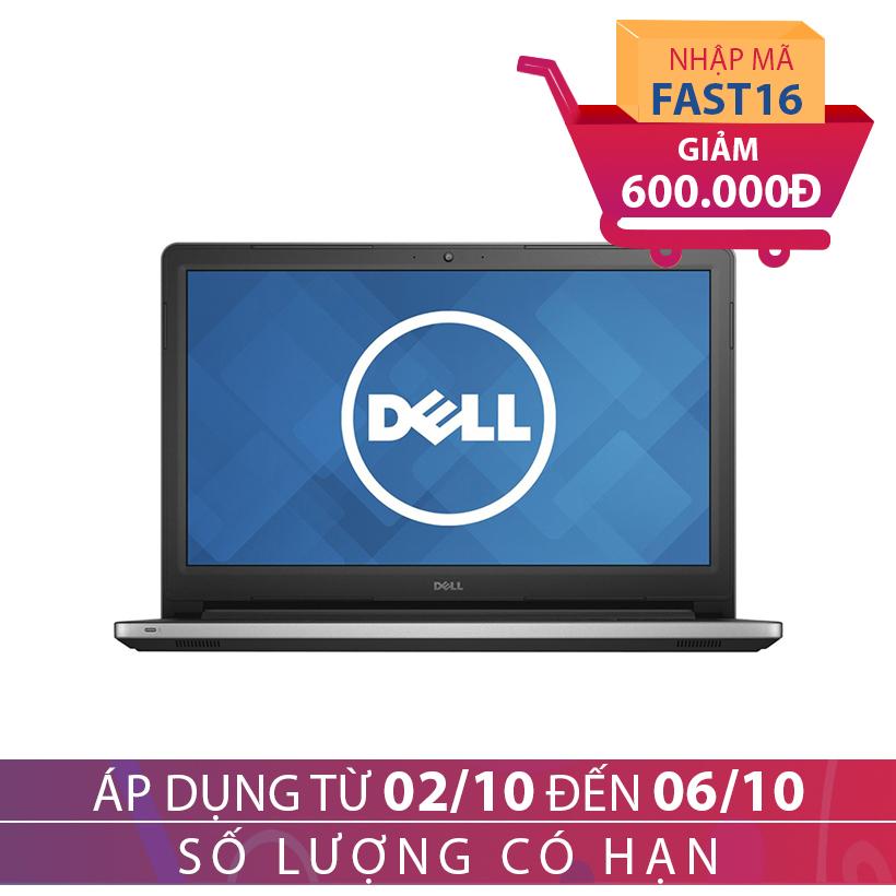 Giảm ngay 600K, tặng kèm túi xách Laptop khi mua Laptop Dell Inspiron