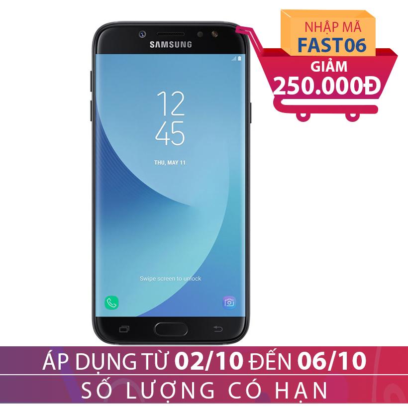 Giảm ngay 250K khi mua Samsung Galaxy J7 Pro 3GB/32GB Đen (Hàng chính hãng)