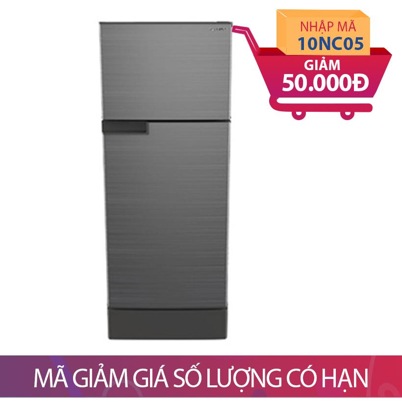 Giảm 50K khi mua Tủ lạnh 2 cánh Sharp SJ-175E-MSL, 165 lít