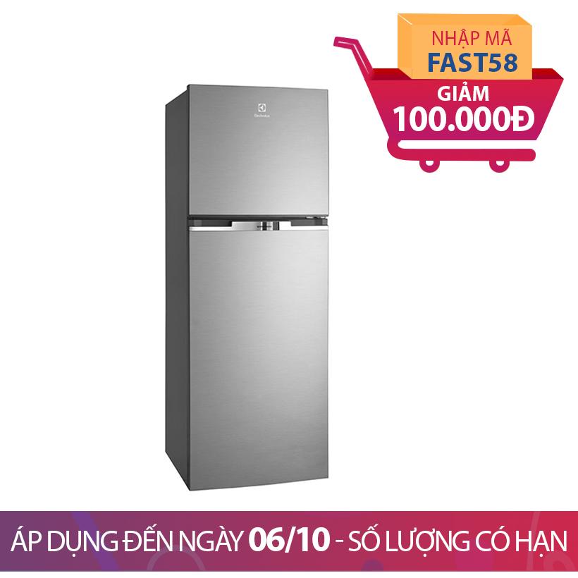 Giảm ngay 100K khi mua Tủ lạnh Electrolux ETB2100MG, 231 lít, Inverter