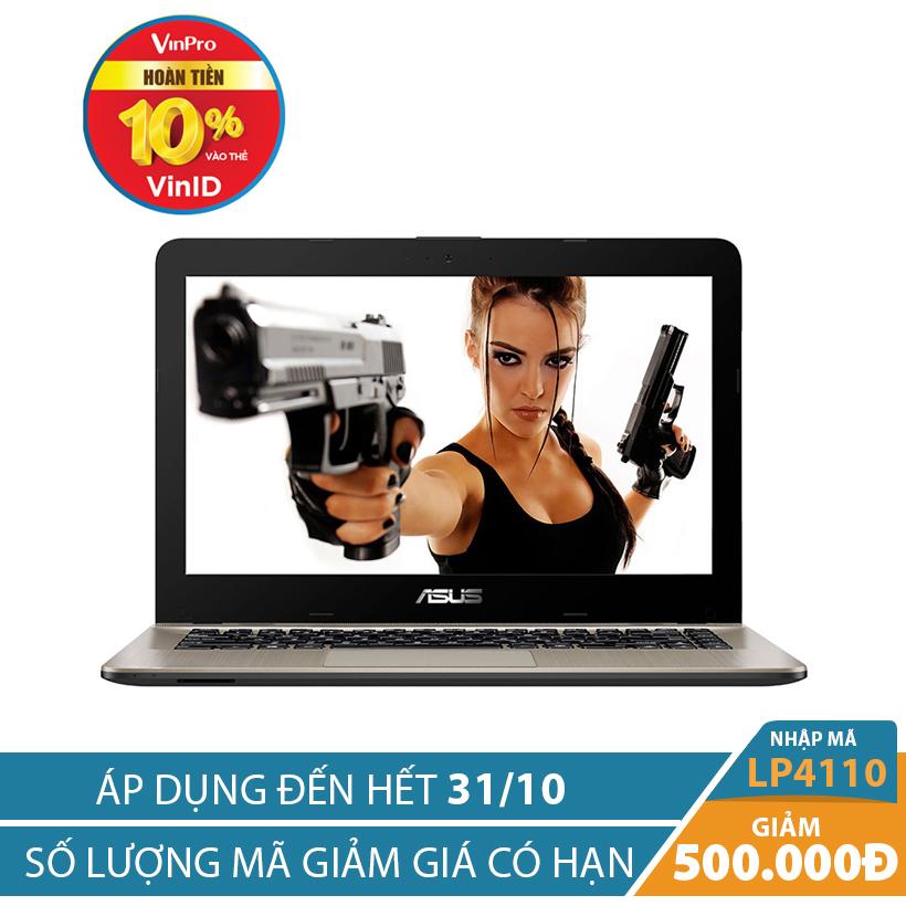 Giảm ngay 500K khi mua Laptop Asus Vivobook Max X441UA-GA070 14 inches Đen