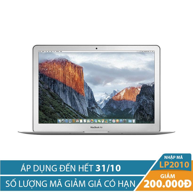 Giảm ngay 200K khi mua Apple Macbook Air 2017 MQD32 128GB 13 inches Bạc (Hàng chính hãng FPT)