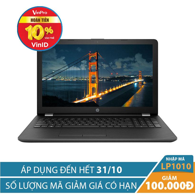Giảm ngay 100K khi mua Laptop HP 15-bs553TU 2GE36PA 15.6 inch (Đen)