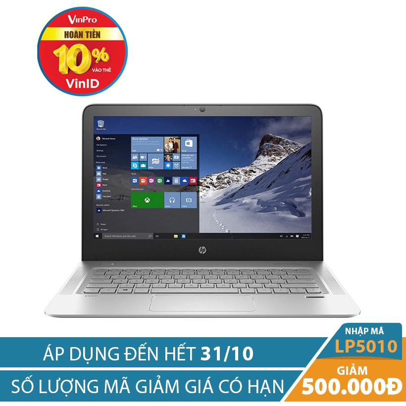 Giảm ngay 500K khi mua Laptop HP Envy 13-d020TU P6M19PA 13.3 inches Bạc (Hàng chính hãng)
