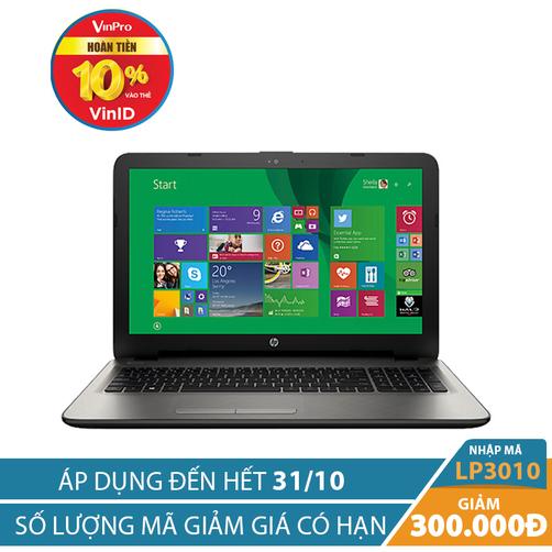 Giảm ngay 300K khi mua Laptop HP 15-ay166TX Z4R07PA 15.6 inches Bạc