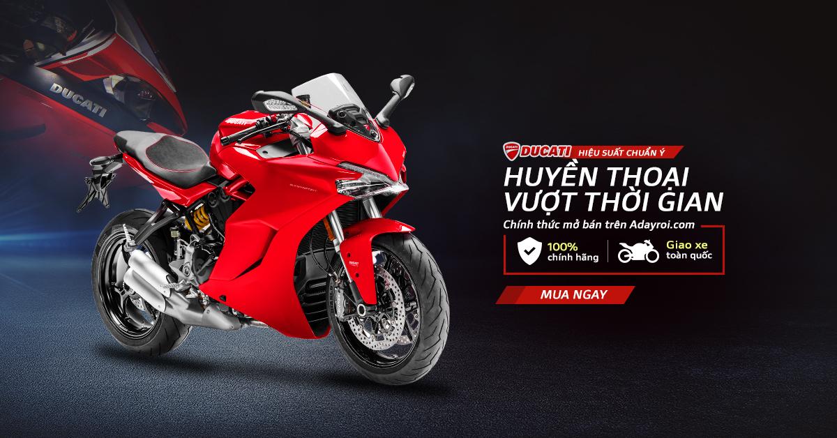 Mở bán siêu xe Ducati