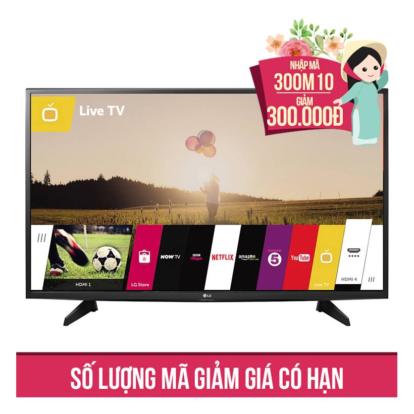 Giảm ngay 300K khi mua Smart Tivi Full HD LG 49 inch 49LH590T