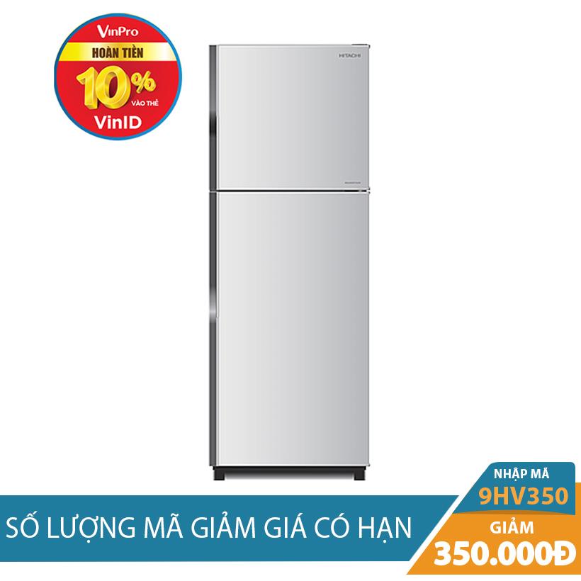 Giảm ngay 350K khi mua Tủ lạnh Hitachi R-H230PGV4(SLS), 230 lít, Inverter