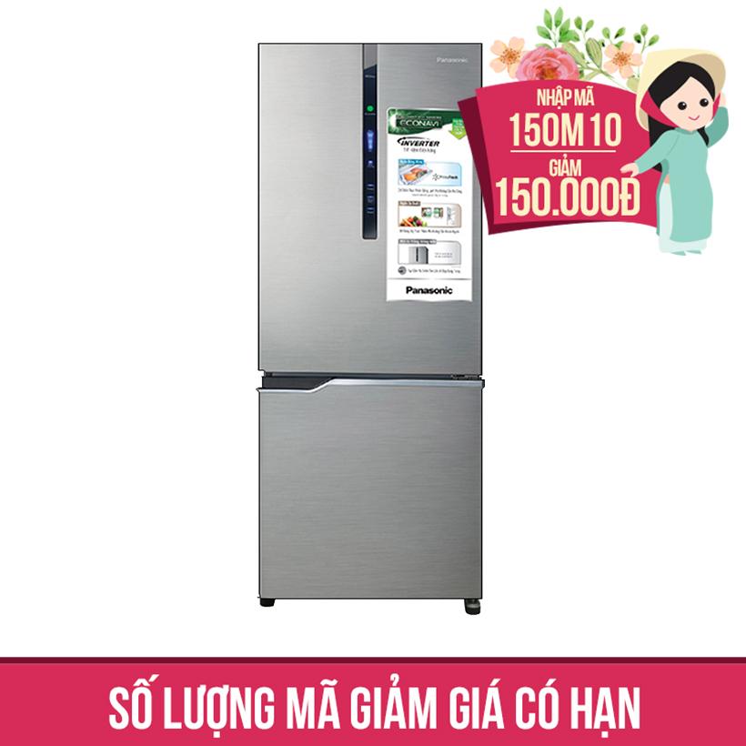 Giảm ngay 150K khi mua Tủ lạnh Panasonic NR-BV288XSVN, 255 lít, Inverter