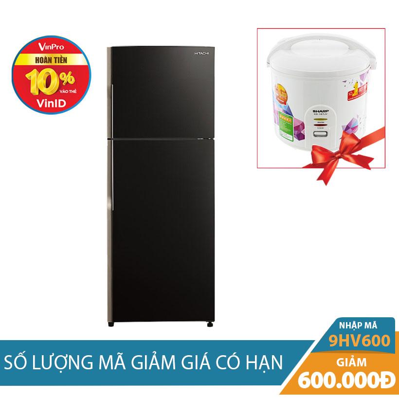 Tủ lạnh Hitachi R-VG470PGV3(GBK), 395 lít, Inverter Khuyến Mại Tháng 10