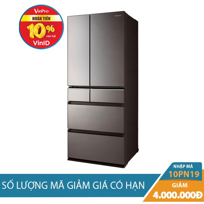 Giảm ngay 4Tr khi mua Tủ lạnh Hitachi R-E6800XV (X), 722 lít, Inverter