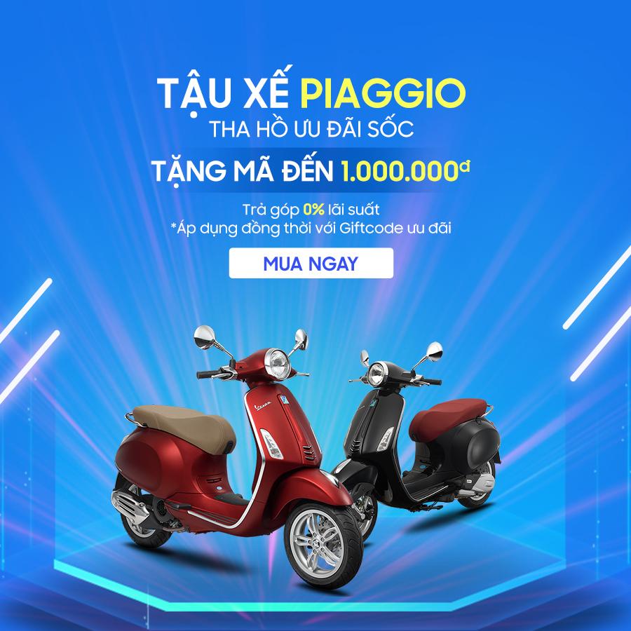 Xe máy chính hãng Online - Tuần lễ Piaggio