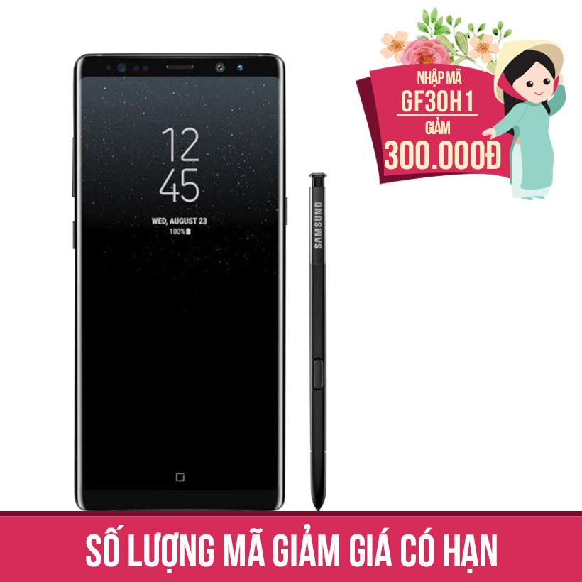 Giảm ngay 300K khi mua Samsung Galaxy Note 8 6GB/64GB - Đen (Hàng nhập khẩu Hàn Quốc)