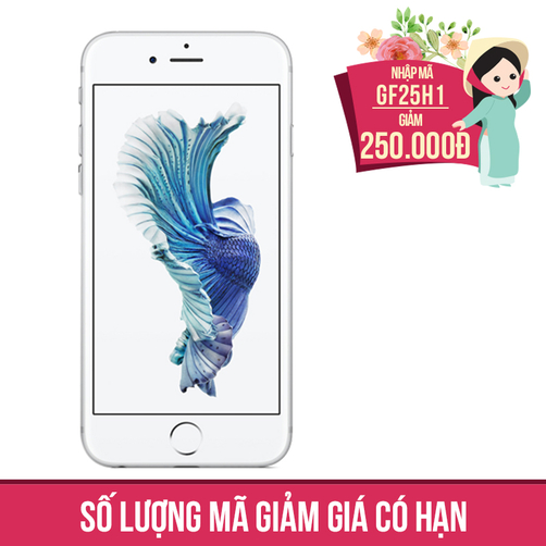 Giảm ngay 250K khi mua Apple iPhone 6s Plus 64GB Bạc (Certified Pre-Owned)