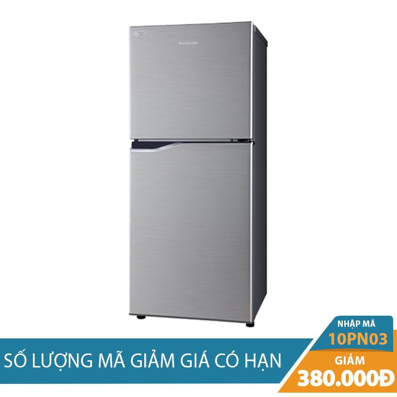 Giảm ngay 380K khi mua Tủ lạnh Panasonic NR-BA188PSV1 167L