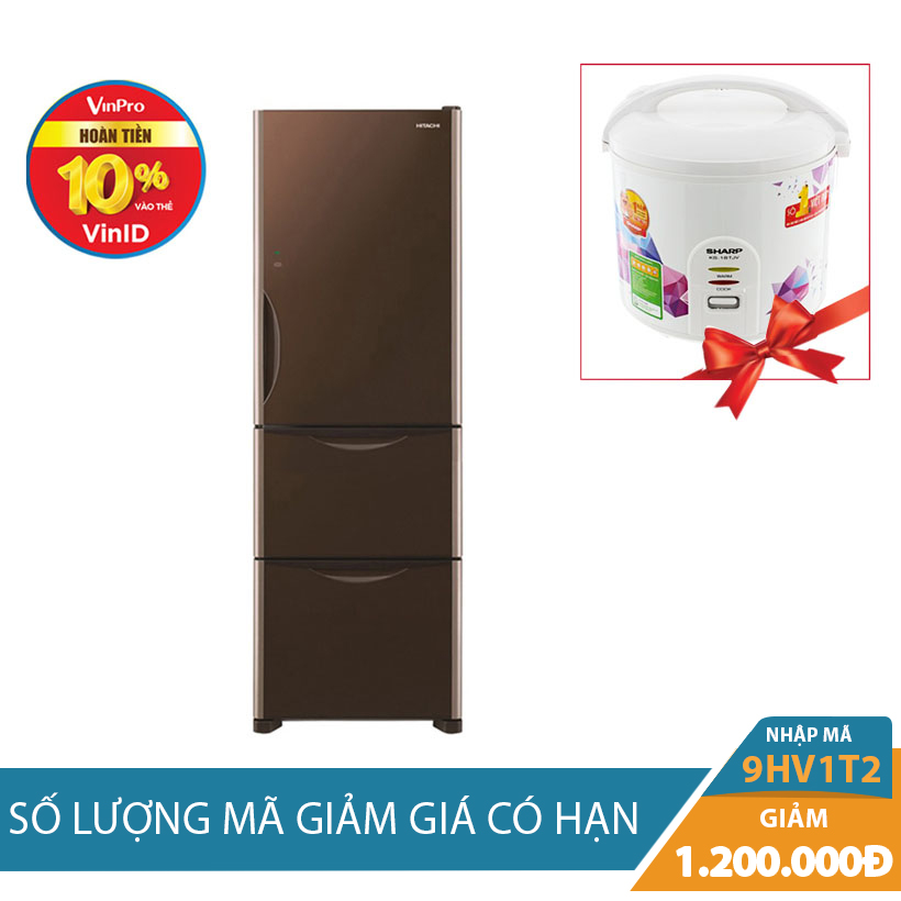 Tủ lạnh Hitachi R-SG38FPGV (GBW) 375L Inverter Khuyến Mại Hấp Dẫn