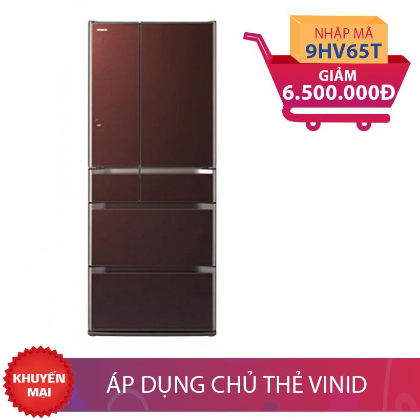 Tủ lạnh Hitachi E6200V(XT), 657L giảm thêm 6,5 TRIỆU