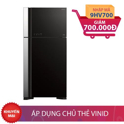 Tủ lạnh Hitachi R-VG540PGV3(GBK), 450 lít, Inverter giảm thêm 700K