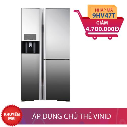 Tủ lạnh Hitachi R-M700GPGV2X(MIR), 584 lít, Inverter giảm thêm 4,7 Triệu