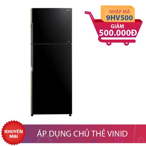 Tủ lạnh Hitachi R-VG400PGV3(GBK), 335 lít, Inverter giảm thêm 500K