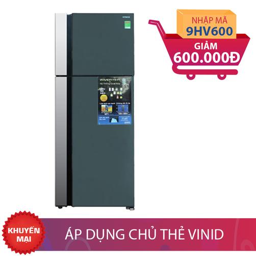 Tủ lạnh Hitachi R-VG615PGV3 (GGR), 510 lít, Inverter giảm thêm 600K