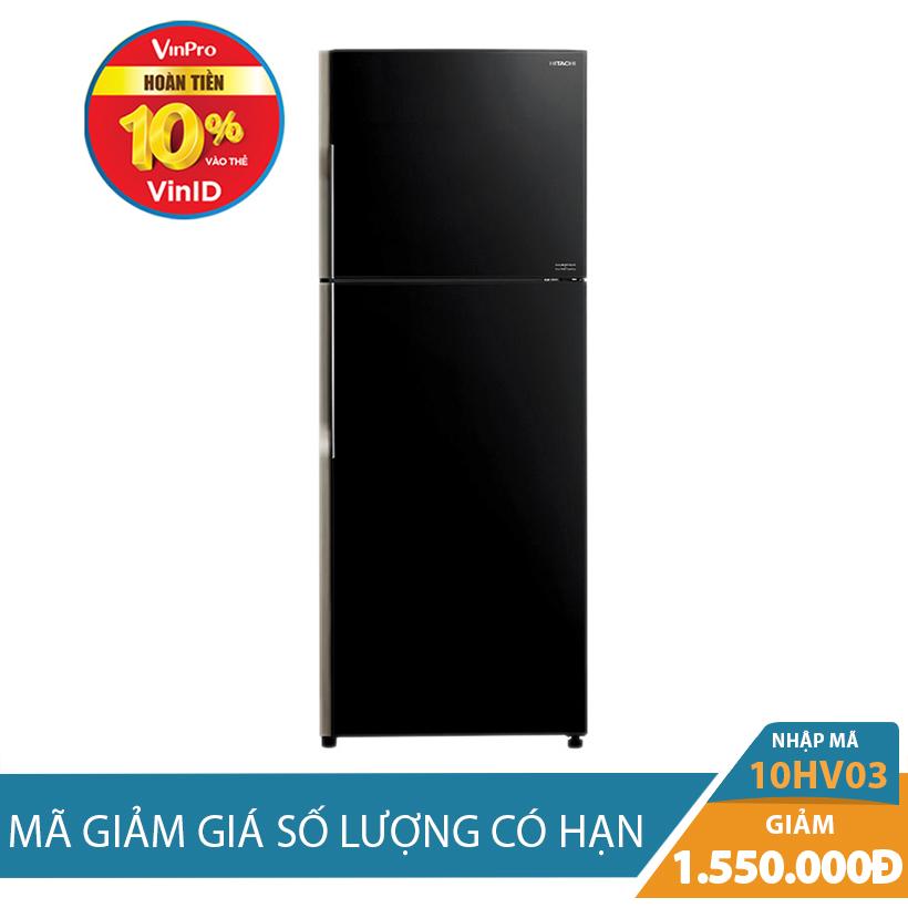 Giảm ngay 1.55Tr khi mua Tủ lạnh Hitachi R-VG400PGV3(GBK), 335 lít, Inverter
