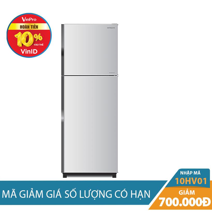 Giảm ngay 700K khi mua Tủ lạnh Hitachi R-H230PGV4(SLS), 230 lít, Inverter