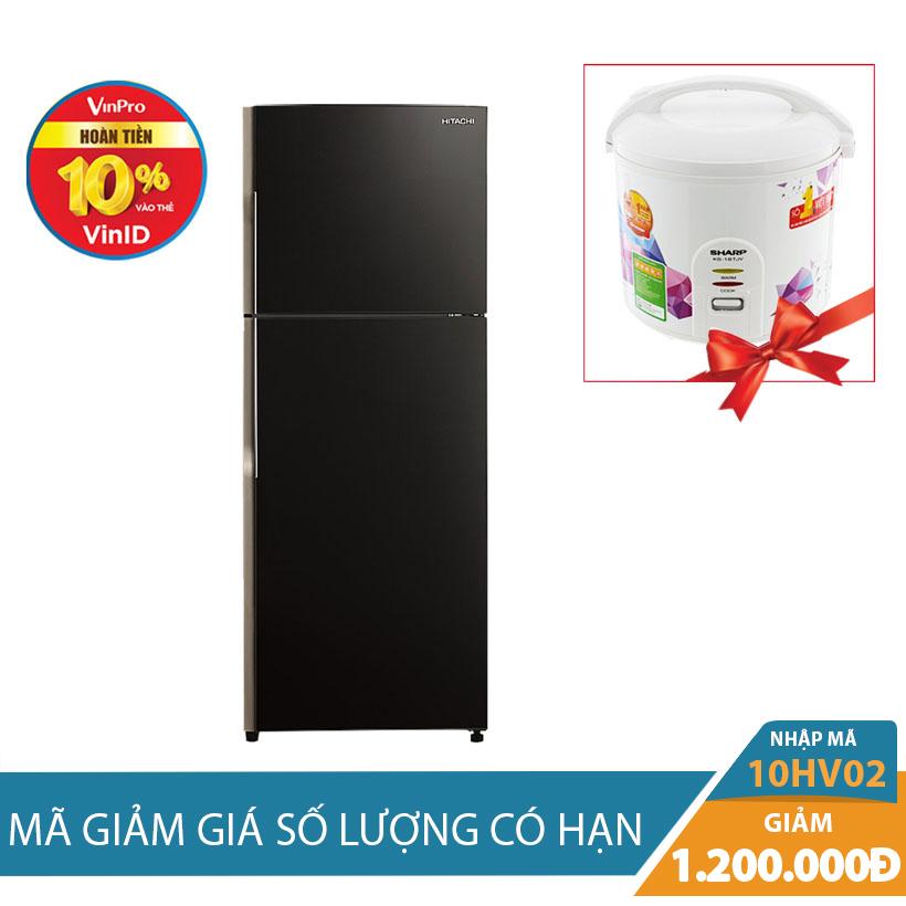 Tủ lạnh Hitachi R-VG470PGV3(GBK), 395 lít, Inverter Khuyến Mại Hấp Dẫn