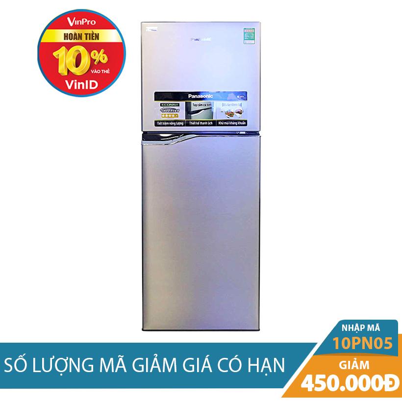 Giảm ngay 450K khi mua Tủ lạnh Panasonic NR-BL268PSVN 188L Inverter
