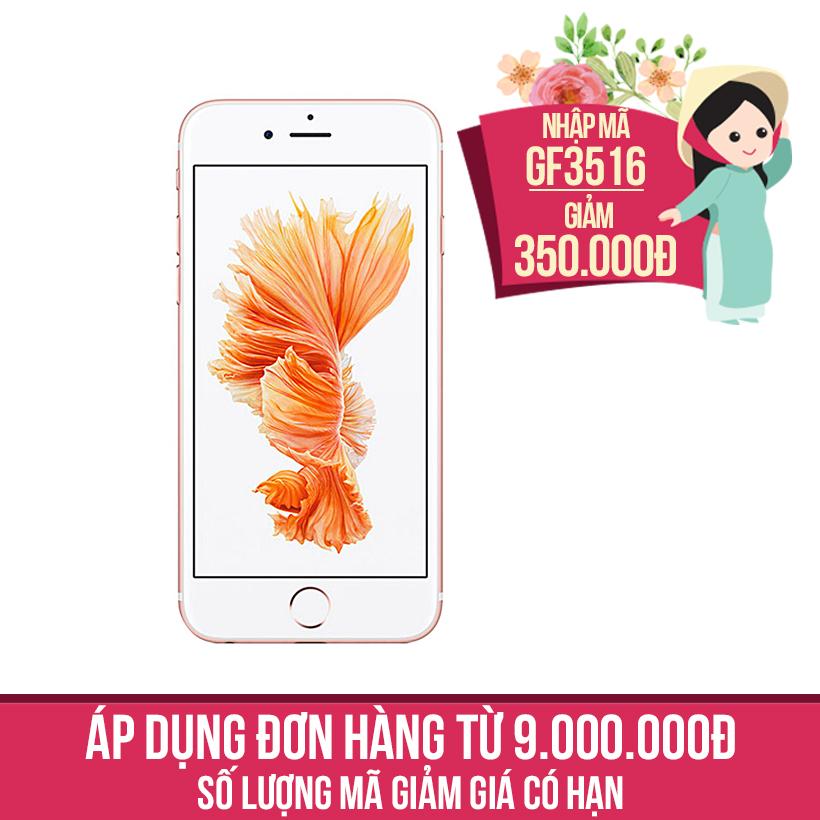 Giảm ngay 350K khi mua Apple iPhone 6s Plus 16GB Vàng hồng (Certified Pre-Owned)