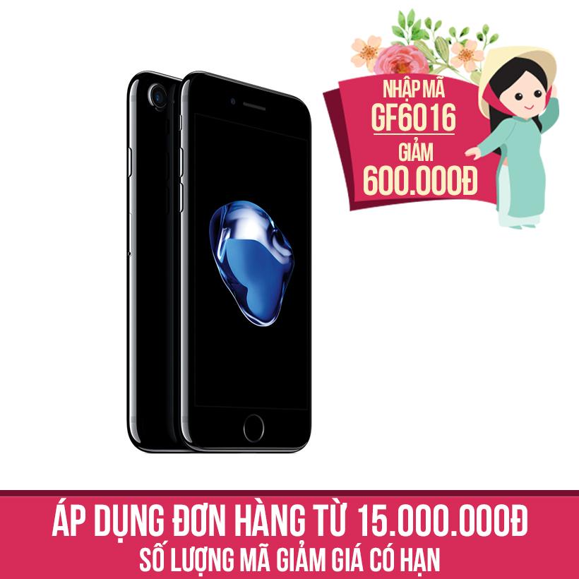 Giảm ngay 600K khi mua Apple iPhone 7 128GB Đen Bóng (Hàng chính hãng VN/A)