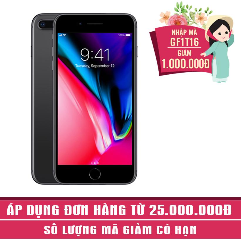Giảm ngay 1Triệu khi mua Apple iPhone 8 Plus 256GB Xám (Hàng nhập khẩu)