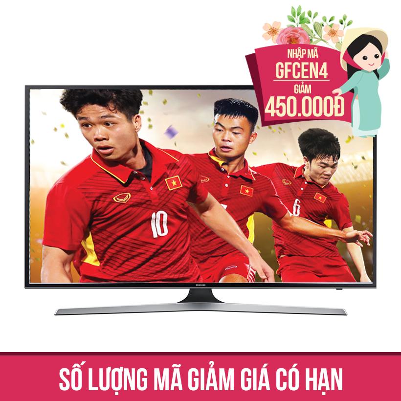 Giảm ngay 450K khi mua Smart Tivi Samsung 50 inch 50MU6100