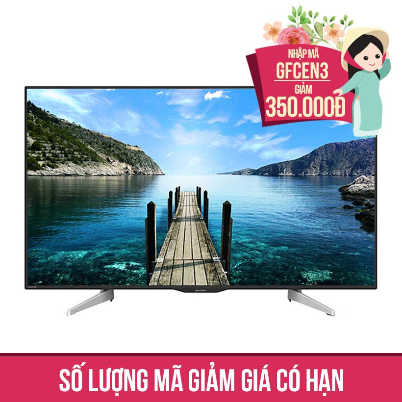 Giảm ngay 350K khi mua Internet TV LED Full HD Sharp 50 inch 50LE380X